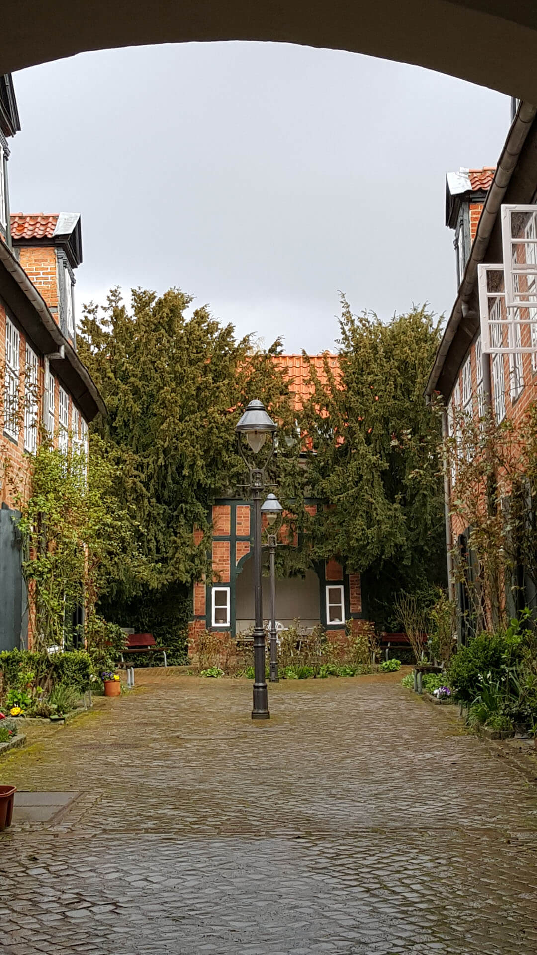 Lübeck Gänge